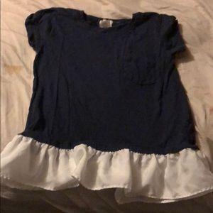 J crew size 6-7 shirt